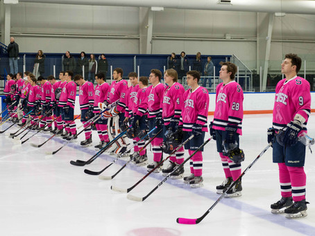 Syracuse Returns Home for ESCHL Tilt, Pink the Rink