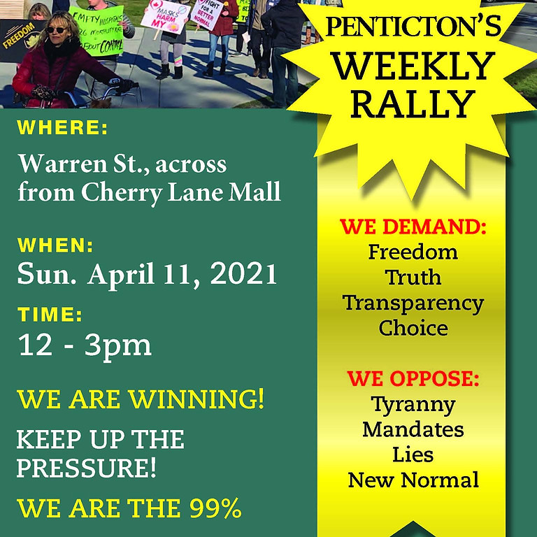 Penticton Weekly Rally