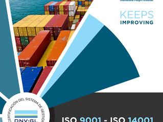 Certificaciones ISO 9001 - 14001