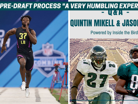 """""""I Was Going To Fail:"""" Unique Pre-Draft Experiences On """"Q&A With Quintin Mikell, Jason Avant"""""""