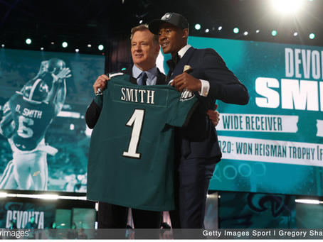 '21 Training Camp Pre: For DeVonta Smith, No Time For Growing Pains