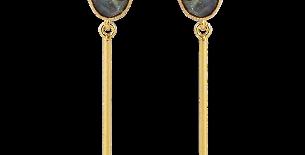 Azalea drop earrings