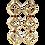 Thumbnail: Anemone chain earrings