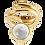 Thumbnail: Dahlia spiral ring