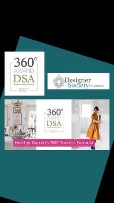 Designer Society of America: 360 Award