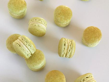 Macarons Vanille et Combava