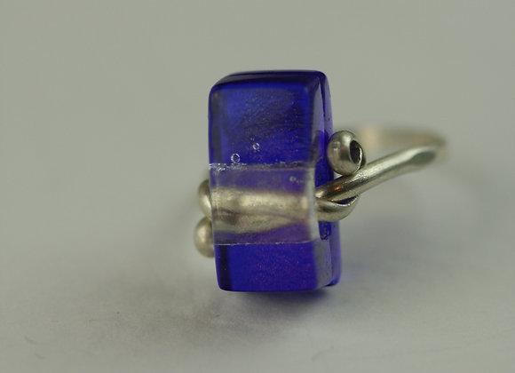 Ring Dark Blue size 5