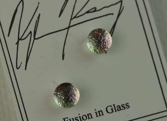 Post Earrings Pink Fusion