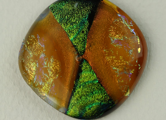 Large Amber and Green 1