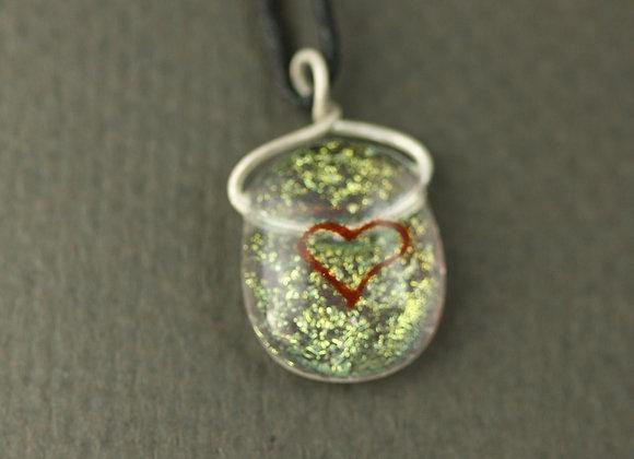 Small Heart Pendant Gold 1
