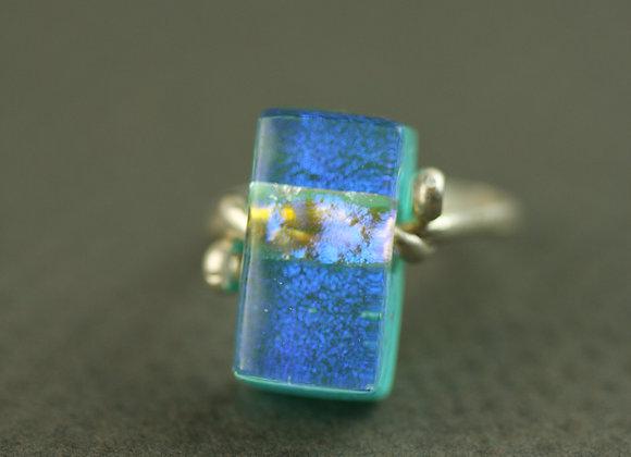 Ring Aqua size 5