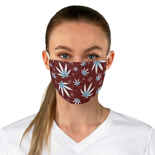 Winter Wonderland Adjustable Face Mask