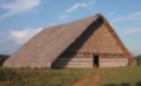 indigenous long house