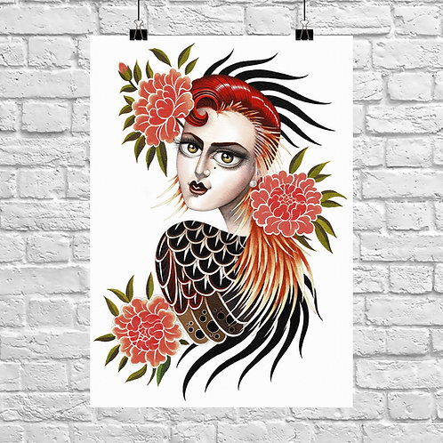 Rooster Woman