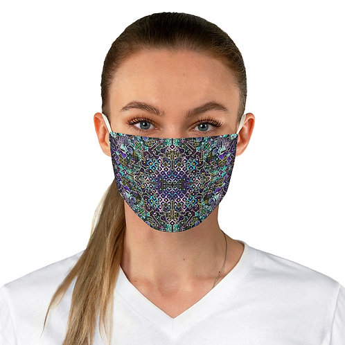 Shipibo Ayahuasca Visions Adjustable Face Mask