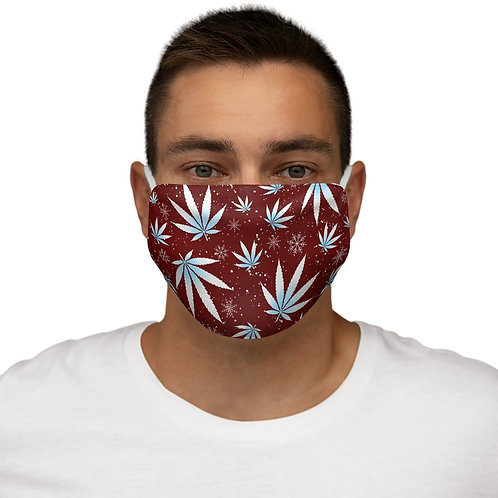 Winter Wonderland Snug-Fit Face Mask- Cotton inner layer