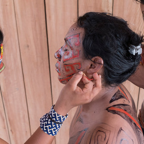 The beauty and depth of indigenous body painting