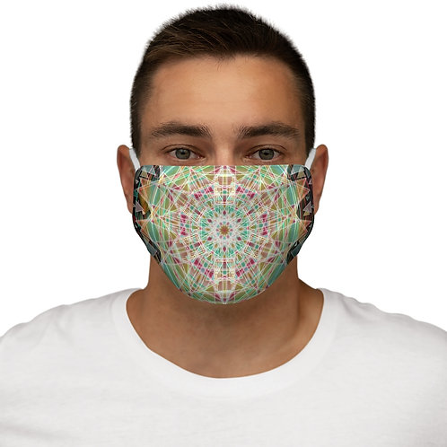 Fibonacci Snug-Fit Face Mask- Cotton inner layer