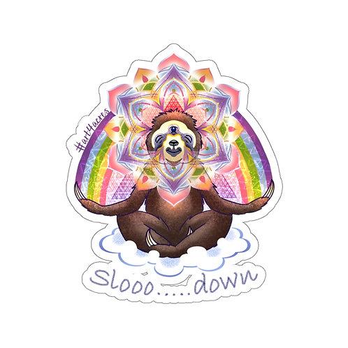 Enlightened 3V Sloth Mandala- Slooo...down