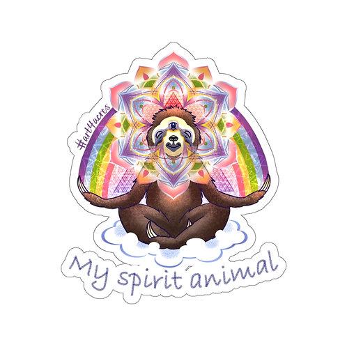 Enlightened 3V Sloth Mandala- My Spirit Animal