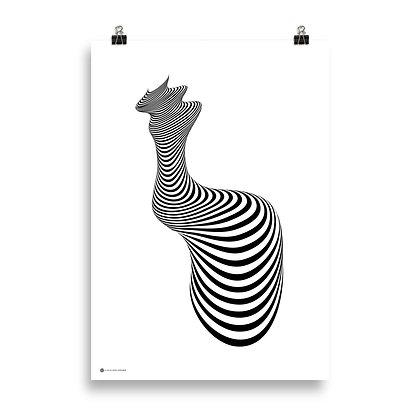 And She Was Waiting - Giclée Print