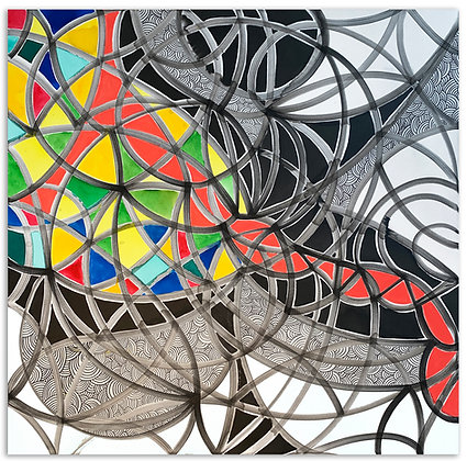 Abstract Mondrian