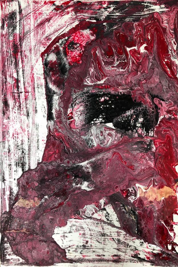 KALEIDOSCOPE IN RED 1