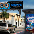 Smurfs (14x48 & bus shelter)