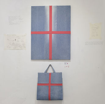 _Bag and Art-Cross_ CDY, 2017, recycled