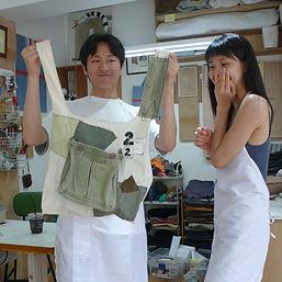 28.녹색천들이 모여 만들어진 FIRST BAG.jpg
