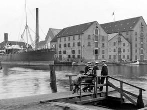 Havnen før og nu - Historien om Kalvebod Brygge