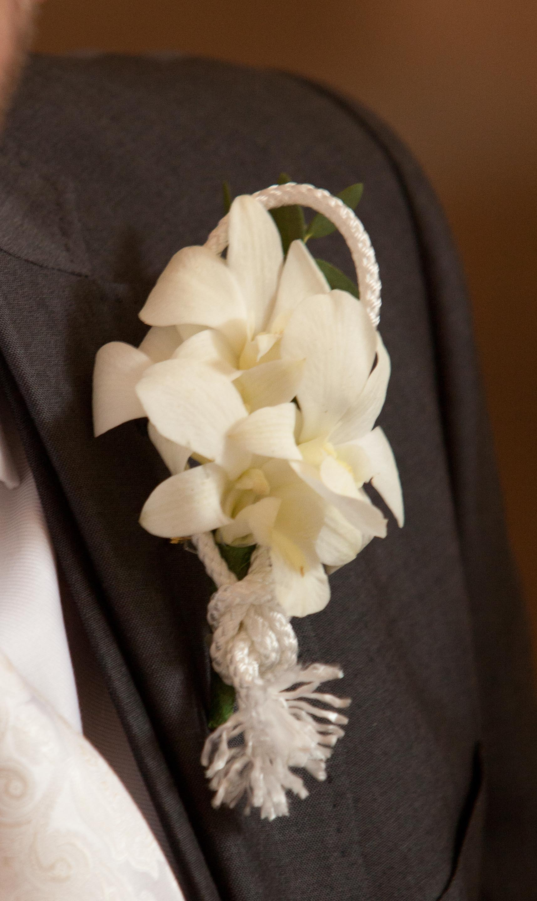 White Orchid wedding flower