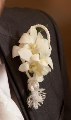 White Orchid wedding flower