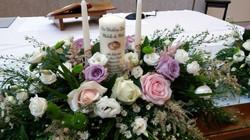 Ceremoony candle arrangement