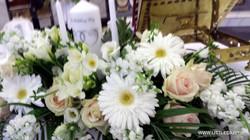 White church flowers