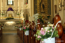 Fresh flowers for church
