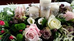 Ceremony candle arrangement