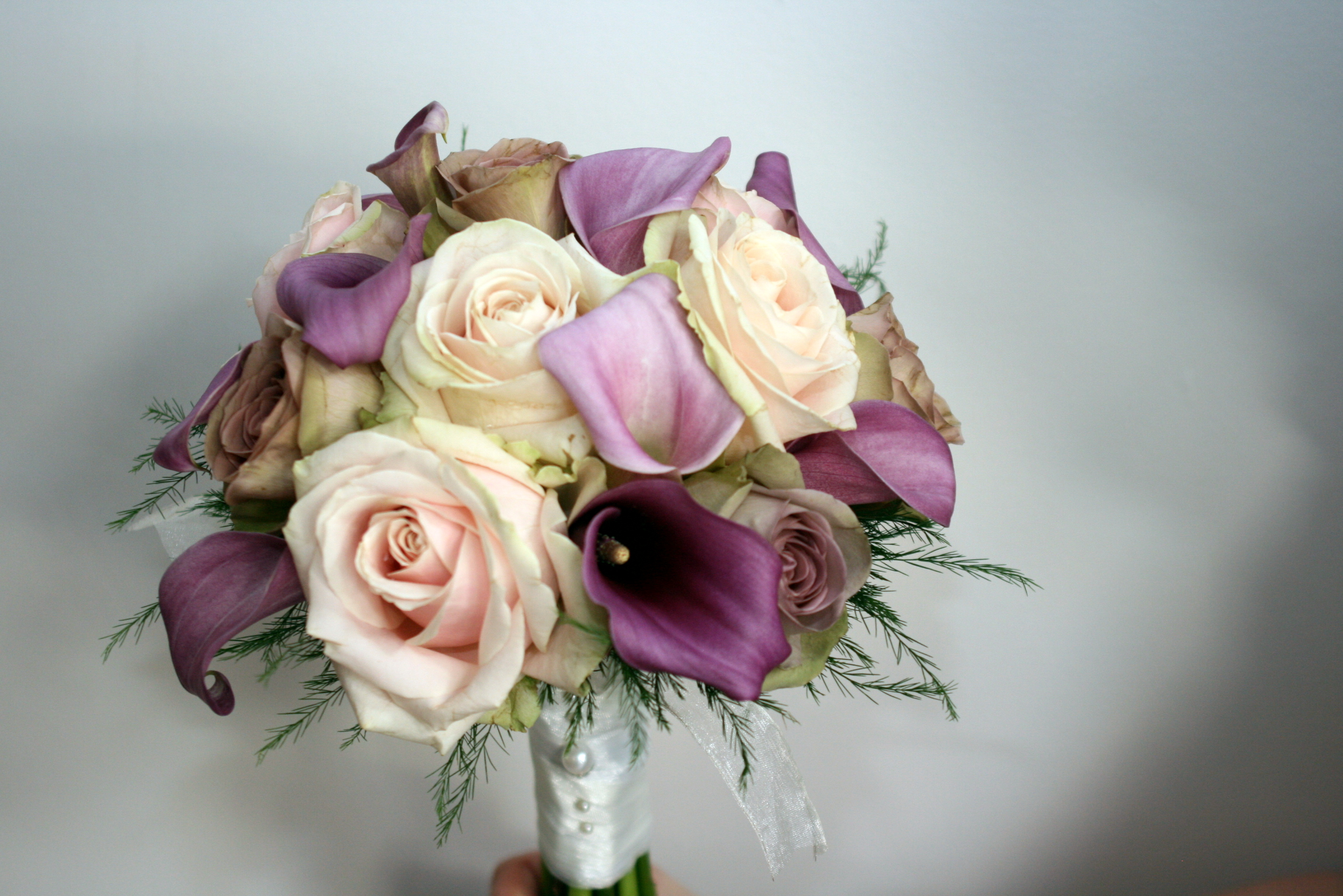 lavender bridal bouquet