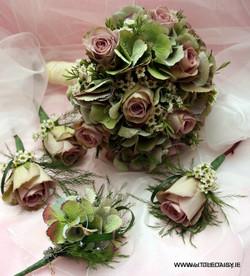 Hydranga bouquet