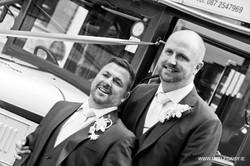 Grooms wedding day