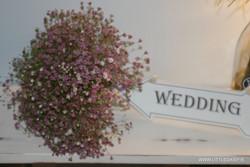 wedding day sign
