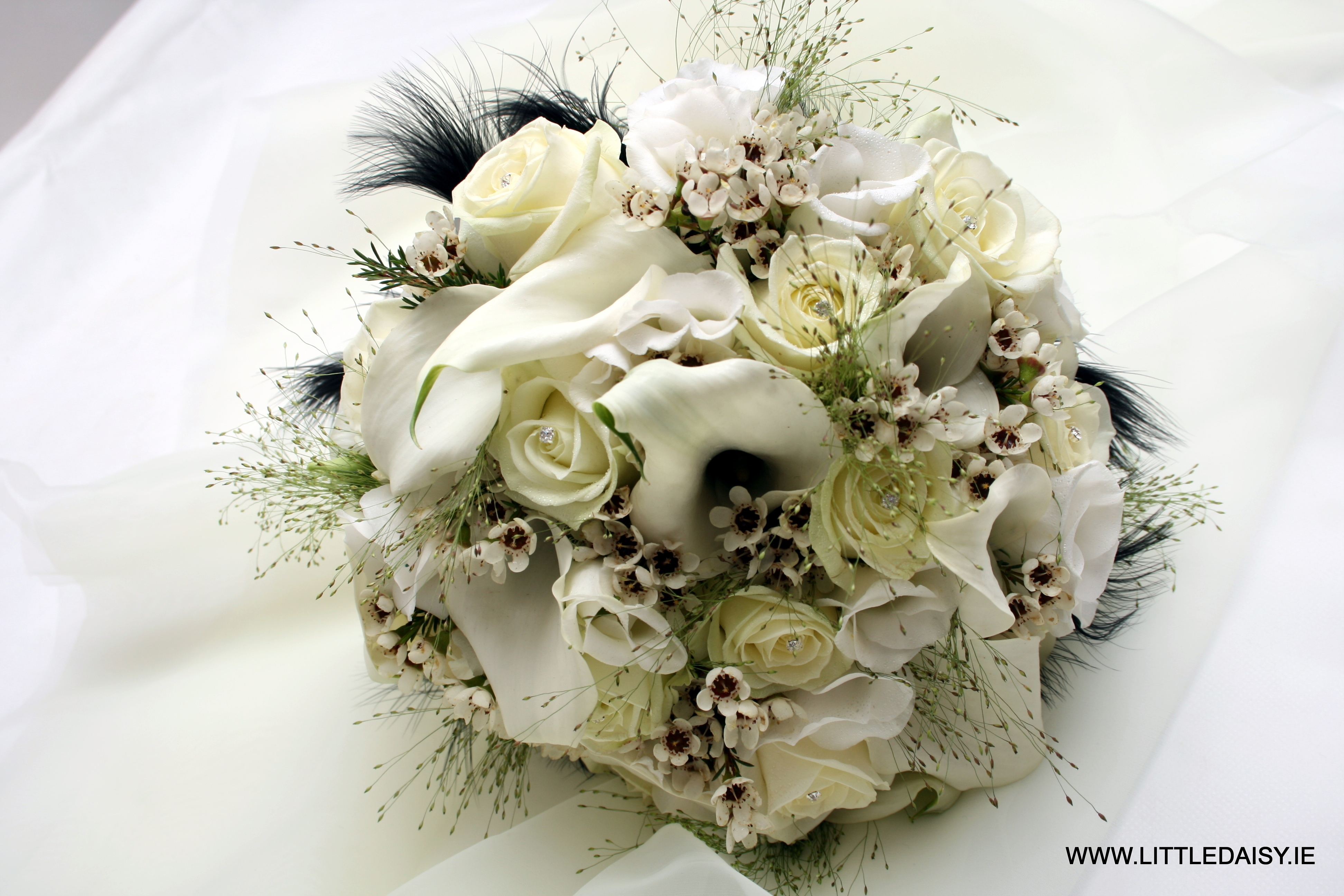 White calla lilly bouquet