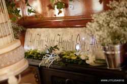 Wedding sign decoration