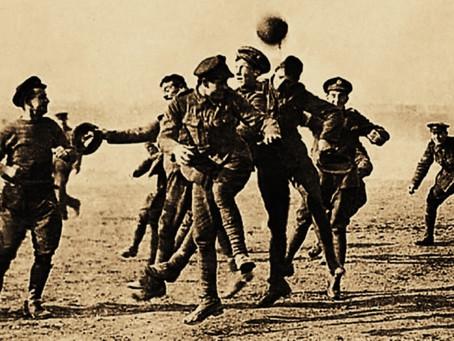 Balas y balones: Fútbol en la línea de fuego