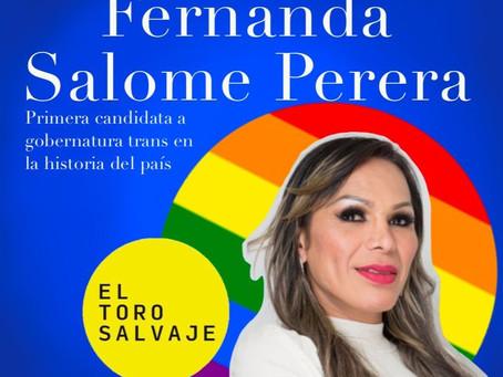 """""""Quiero ser alguien que ayude a más personas a lograr sus sueños"""": Fernanda Salomé"""