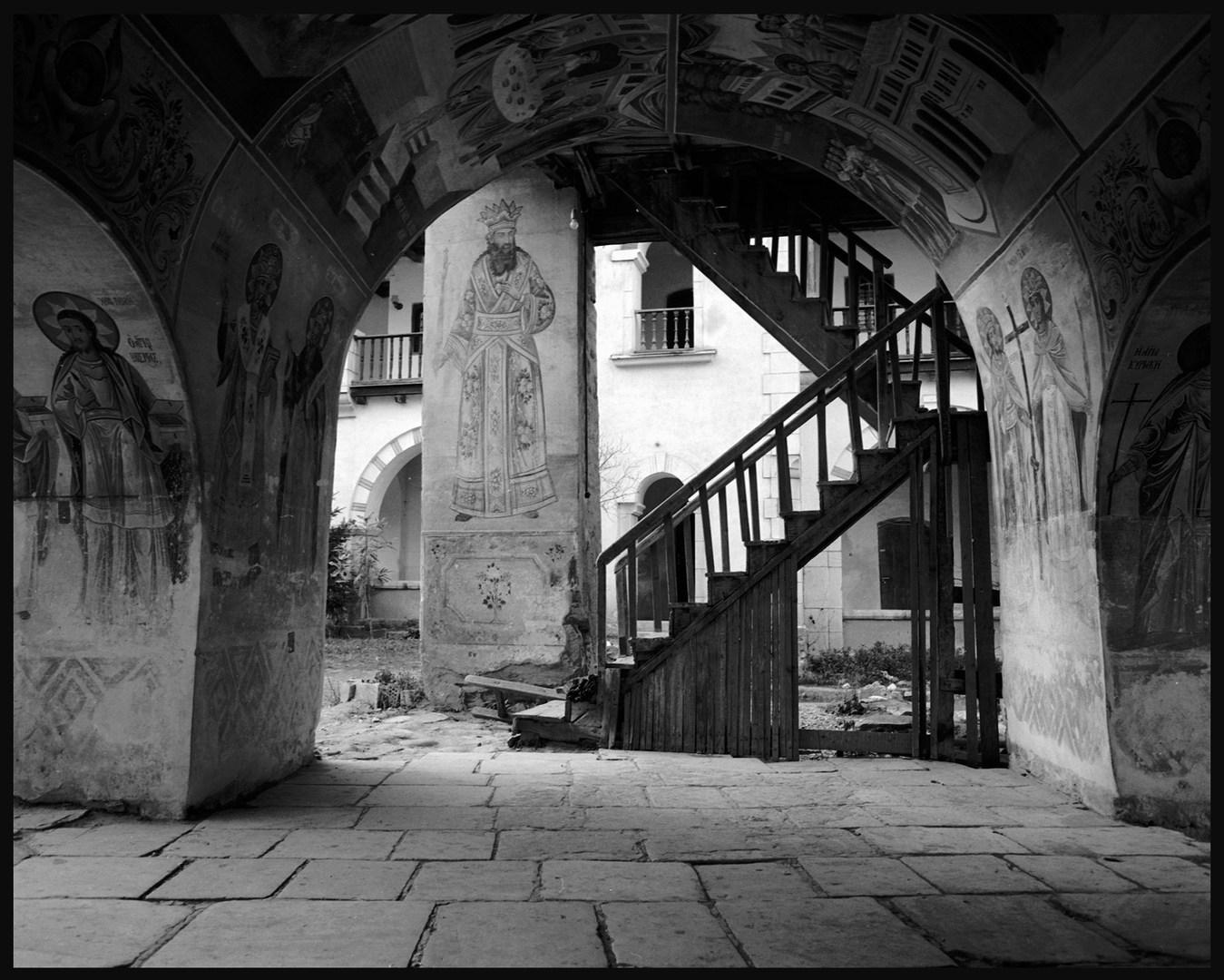 Monasteries of Asenovgrad and Rila. December, 1985.