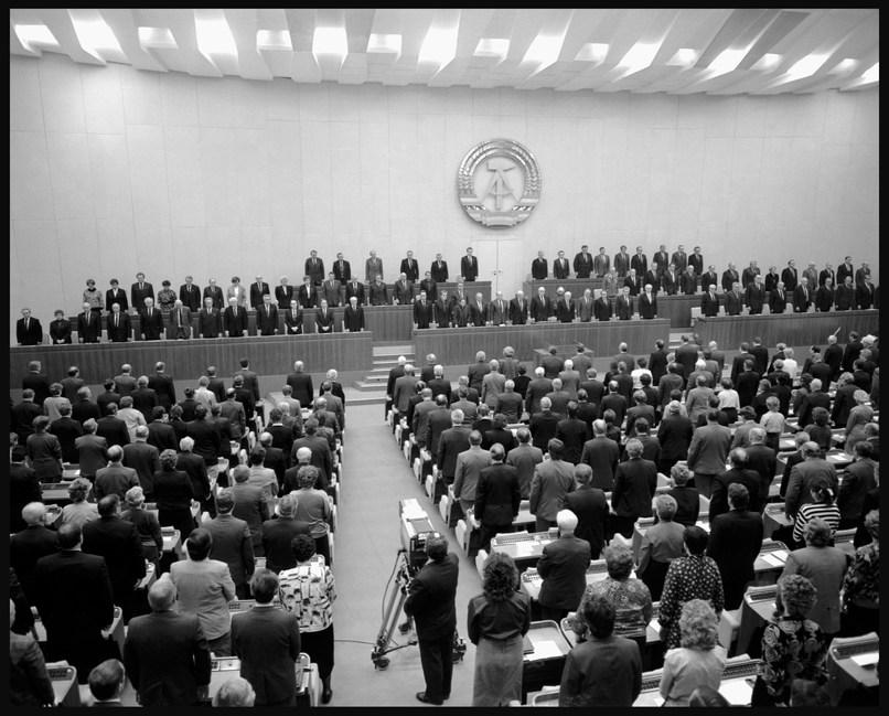 GDR Parliament. November, 1988.
