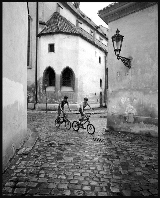 Prague. June, 1989.