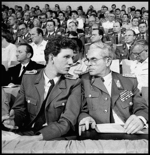 SED meeting, East Berlin. December, 1989.