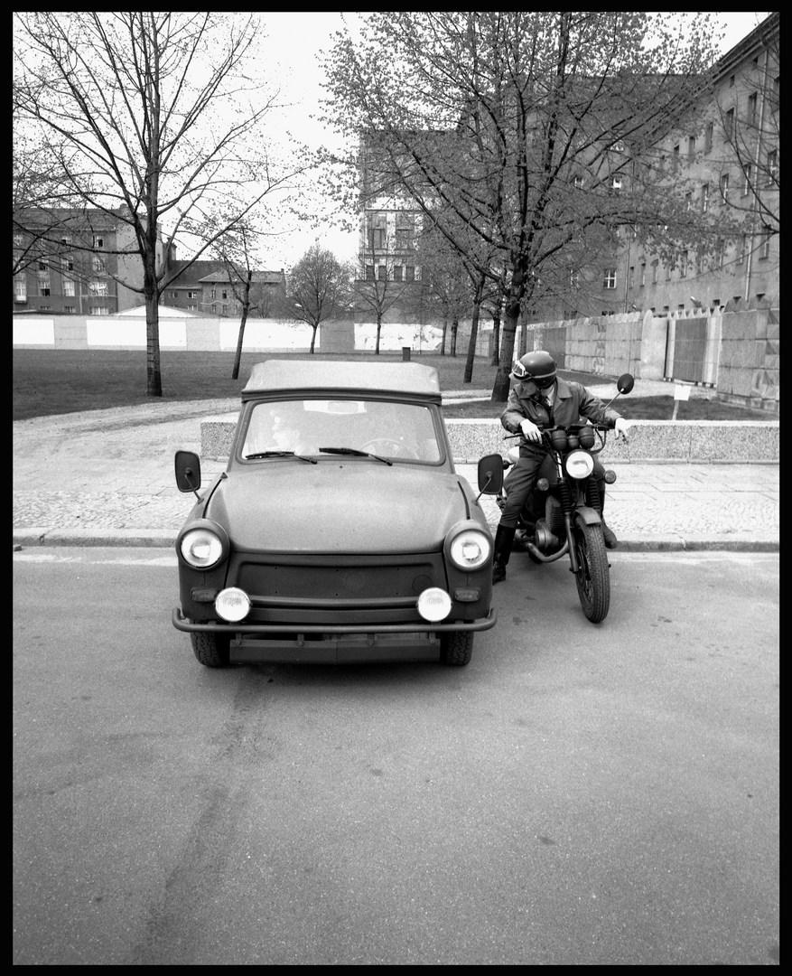 GDR police. November, 1988.
